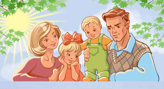 рисунки родителей в детском саду